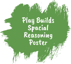 Play Build Spacial Reasoning Poster