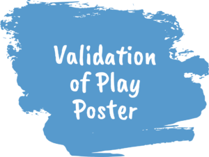 Validation of Play Poster